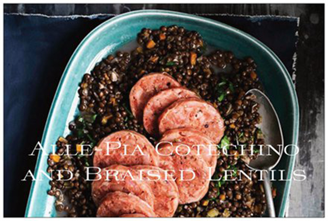 cotechino-braised-lentils